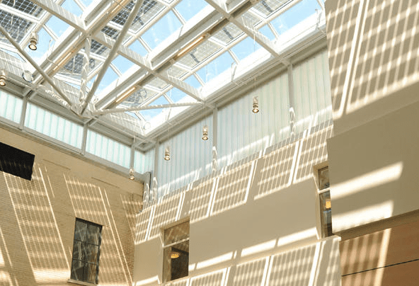 National Academy of Sciences with Lamberts channel glass from Bendheim Wall Systems