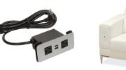 PCS62 flush power grommet from Doug Mockett & Co. Inc.