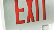Orbit Industries' EESLA-LED, a new emergency/exit combination light.