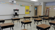 CertainTeed's mission was to investigate the impact of installing different, high-performance acoustical ceiling panels and gypsum board from its product lines in six of the classrooms.