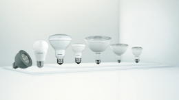OSRAM SYLVANIA of OSRAM Americas is launching ORIOS LED lamps, including A-line, MR16, BR, R and PAR lamps.