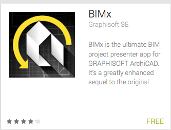 GRAPHISOFT's BIM presentation app, BIMx Docs, has been released for Android phones and tablets in Google Play.