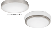 Acuity Brands Inc. introduces six additional designs to its line of new generation LED flush mounts from Lithonia Lighting.
