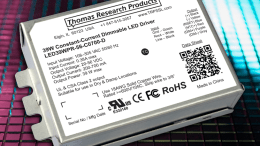 Thomas Research Products introduces a new programmable LED Driver. Thomas Research Products is a manufacturer of SSL power solutions.