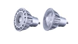 Soraa upgraded its MR16 GU10 base 120V LED lamp line with the company's third-generation GaN on GaN LED.