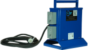 The TX-40-120-1224-WP portable power transformer from Larson Electronics provides a reliable source of low-voltage 12 V or 24 V power in AC or DC forms.