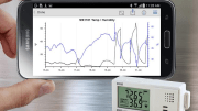 Users can wirelessly configure Onset's HOBO MX1101 loggers, view data in graphs, check logger status, and share data in Excel and other applications right from their Android device.