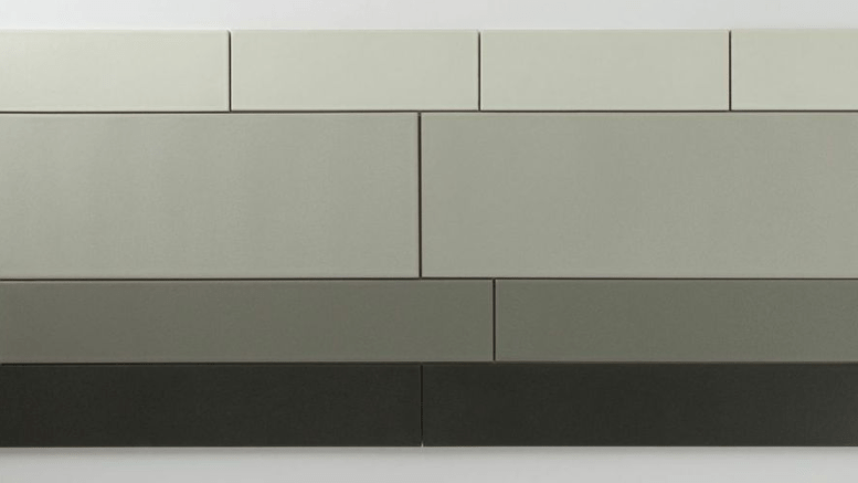 Fireclay's EDGE is made of more than 70 percent recycled content: clay, glass, waste porcelain, spent abrasives and granite dust.