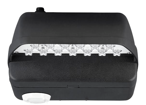 Hubbell Outdoor Lighting's LNC2 LED wall pack features a motion sensor option.