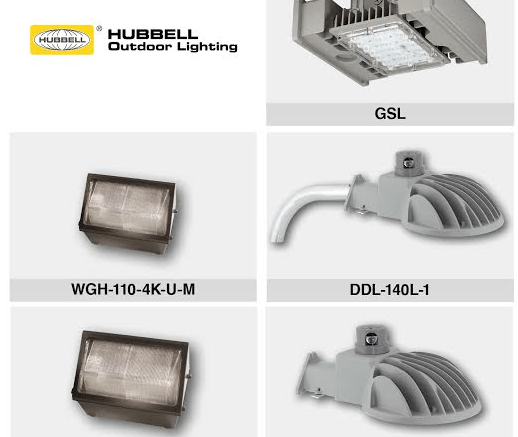 Hubbell Outdoor Lighting Extraordinary Updated LED Luminaires Are Designed For A Range Of Outdoor Ceiling