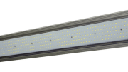 The GAU-48-160W-LED from Larson Electronics is a general use high bay LED linear integrated light fixture that provides 17,215 lumens of illumination in a 160-degree wide flood beam spread.