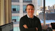 ModSolar's Mike Dershowitz, in the company's new Center City Philadelphia headquarters.