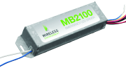 Wireless Environment LLC introduces the MB2100 Series Compact Emergency Drivers that provide cost-effective battery backup control for emergency egress lighting in commercial LED luminaires.