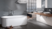 Two acrylic Loop & Friends bathtubs have been added to Villeroy & Boch's assortment.