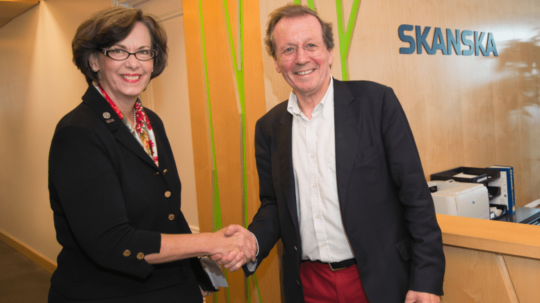 At Climate Week 2014, Beth joined George Ferguson, mayor of the city of Bristol, U.K., a 2015 European Green Capital, to advocate for net zero buildings.