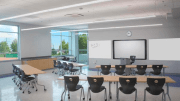 Hubbell Lighting's Litecontrol Liteweave Linear features a profile smaller in width and height than a typical smartphone to provide an unobtrusive solution for commercial, educational and civic applications.