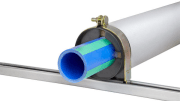 Hydra-Zorb announced the availability its Klo-Shure Insulation Couplings for metric-sized polypropylene pipe systems, including Aquatherm Blue Pipe and Green Pipe.
