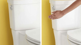 The ActiVate touchless flush sensor from American Standard is calibrated to deliver consistent, optimal performance every time you flush.