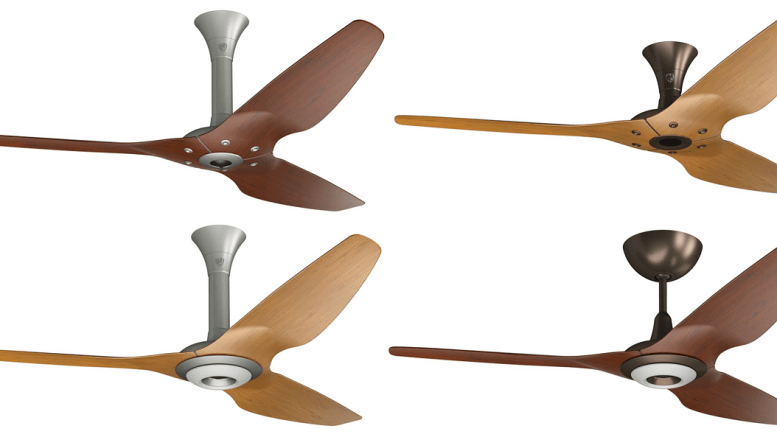 Big Ass Fans Introduced Two Hardware Finishes Oil Rubbed Bronze And Satin Nickel