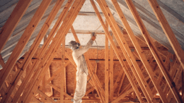 Interior Radiation Control Coatings from SOLEC-Solar Energy Corp. are an ideal way to retrofit radiant heat barrier technology to existing structures.