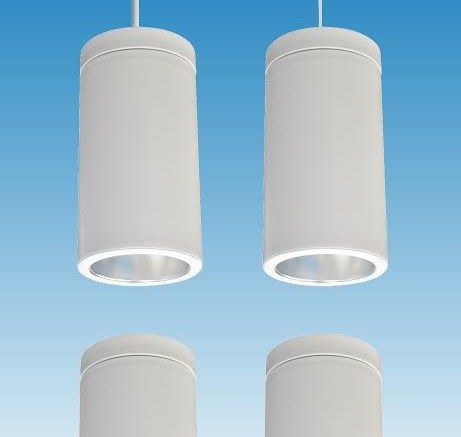 Cylinder, a new series of contemporary LED fixtures, is now available from NSpec by Nora Lighting.