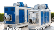 In designing the 12-inch dewatering and sewage pump—the BA300E—BBA Pumps has also focused on a small footprint, by reducing the product's dimensions.