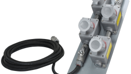 The EPEXC-4X-12.3-100 explosion-proof extension cord from Larson Electronics.