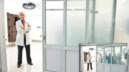 Liquid Crystal Switchable Privacy Glass from Innovative Glass Corp.