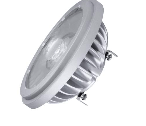 Soraa launched a full visible spectrum 4-degree AR111 LED lamp.