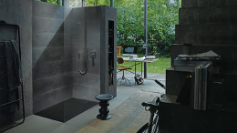 Duravit introduces its Stonetto shower tray.