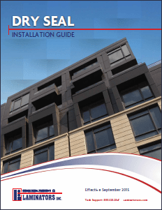 Laminators Inc. has issued a new Dry Seal Installation Guide.