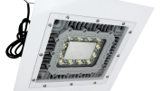 The HALD-24-1X100LED hazardous area LED light fixture from Larson Electronics.