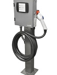 Leviton introduces the Evr-Green 320 Level 2 Charging Station, an addition to its Evr-Green line of residential, commercial and public electric vehicle charging systems.
