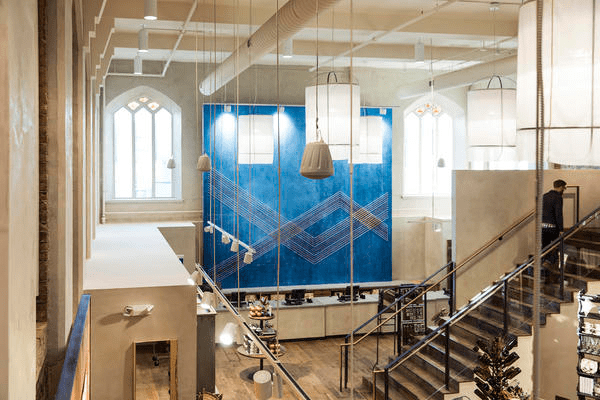 Jarvi and Wale Falade, associate architect at NewStudio Architecture, tackled the initial survey of the 13,000-square-foot structural section marked for the new store location.