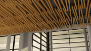 Hunter Douglas has introduced four products to its Tavola beam and baffle ceiling series: Divergent, Levels, Canted and Cassettes.
