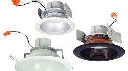 Nora Lighting's Cobalt Series of LED retrofit downlights now includes a 4-inch Premium Deep Cone Reflector/Baffle Model.