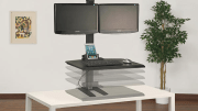 Increase productivity and promote wellness with the WS1 Adjustable Height Workstation from Doug Mockett & Co. Inc.