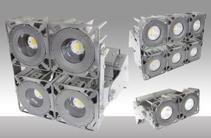 ModMax flood lighting systems are offered in multiple wattages and mounting options.