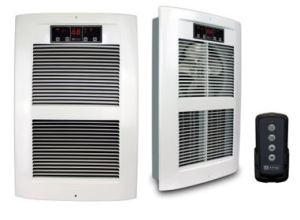 LPW Eco2S Automatic 2-Stage fan-forced wall heater provides primary heat for commercial spaces.
