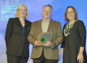 High Sierra Showerheads is recognized with a 2016 WaterSense Excellence Award for Strategic Collaboration.