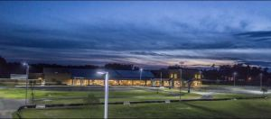 Sandy Grove Middle School is an energy-positive school, thanks to the use of LED lighting as the primary lighting source.