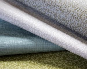 The wallcovering is available in four colors.
