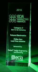 Future Lighting Solutions won top honors at the Electronic Components Industry Association's Executive Conference.