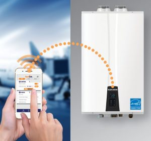 NaviLink is designed to support remote access for all Navien tankless water heaters, combi-boilers and gas condensing boilers through the NaviLink Wi-Fi control.