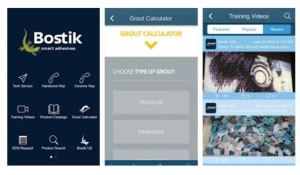 The Bostik Construction USA mobile app is a jobsite specification tool developed to assist with construction adhesive selection and proper installation.