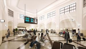 The goal was to restore the station's historic integrity while modernizing its structure to provide a facility that would be safe, more accessible and environmentally friendly.