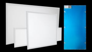 The LED Panel Lights deliver a wall of illumination without visible bulbs or hot spots.