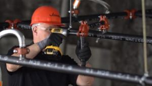 The Roll Grooving Tool is a tool that forms a Victaulic IGS groove into either Schedule 10 or Schedule 40 1-inch pipe.