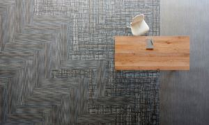 The Isle of Skye carpet tile collection incorporates a pallet of colors and style variations.