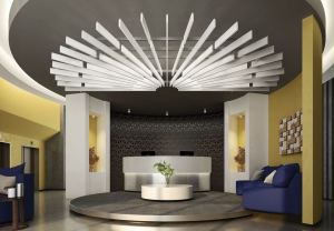 The additional blade lengths provide architects and designers with the flexibility to achieve custom-looking ceiling designs.